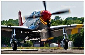 Lee Archer (pilot) - Image: P 51C 06