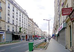 image illustrative de l'article Rue d'Avron