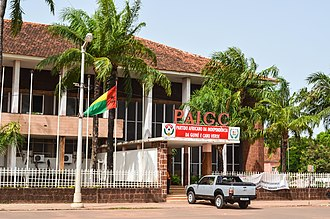 African Party for the Independence of Guinea and Cape Verde - PAIGC HQ in Bissau
