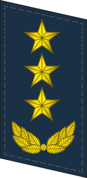 Ranks of the People's Liberation Army Air Force - Image: PLAAF Collar 0720 GEN