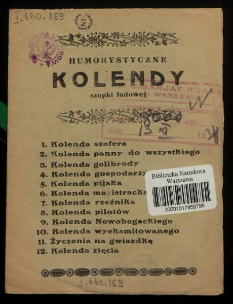File:PL Humorystyczne kolendy szopki ludowej.djvu