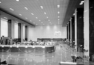 PSFS Building - The banking hall in 1985