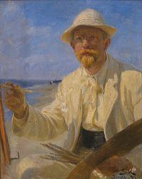 P S Krøyer 1897 - Selvportræt.jpg