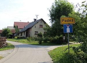 Padež, Vrhnika - Image: Padez Vrhnika Slovenia