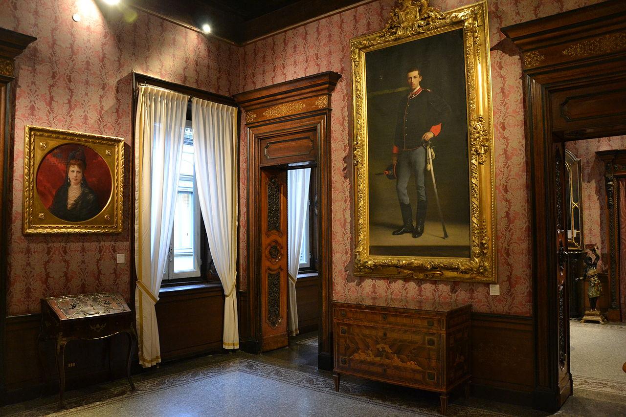 Палаццо Морандо Милан музей