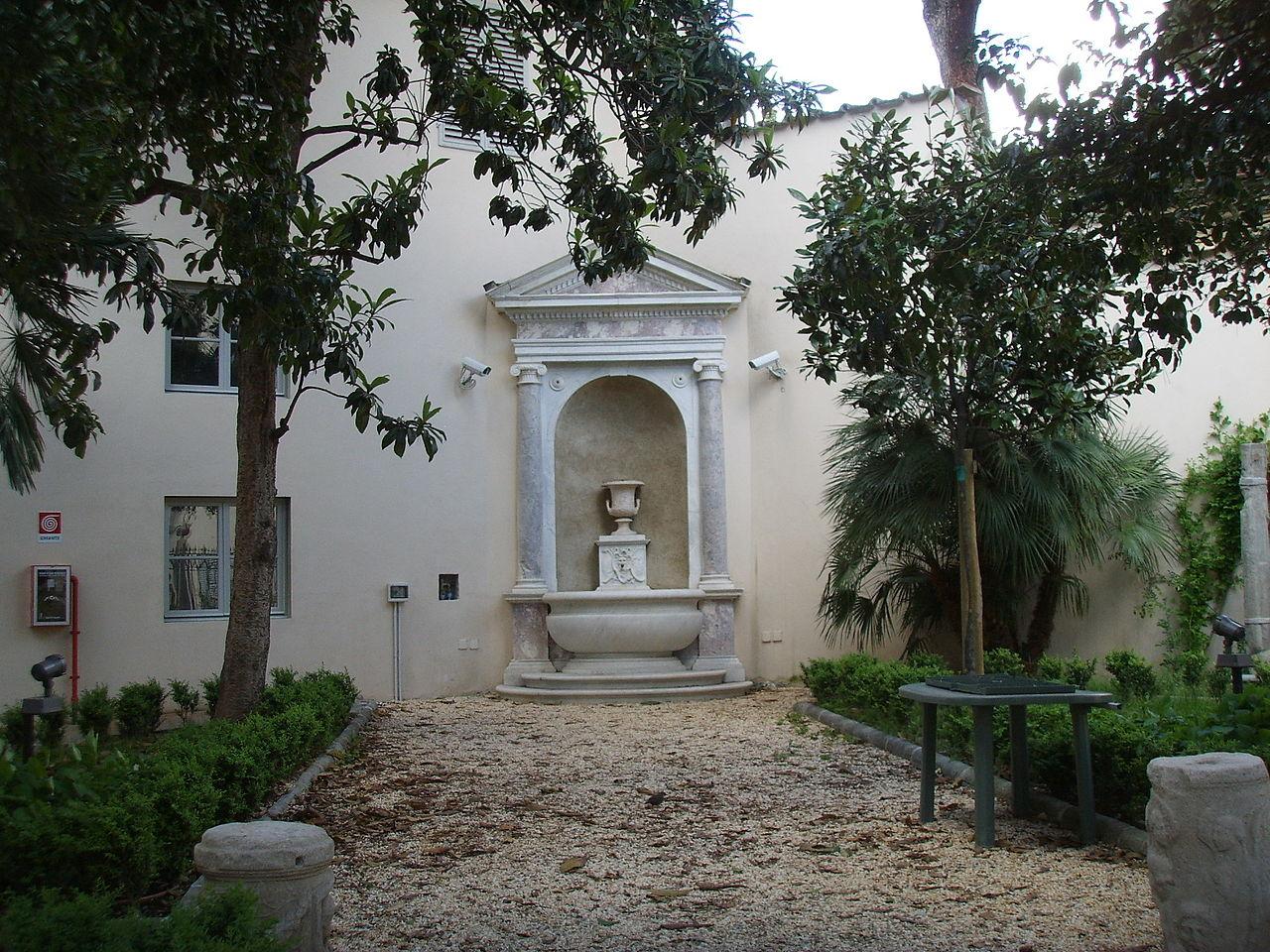 File Palazzo Sacrati Cortile 10 Giardino Jpg