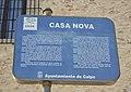 Panell informatiu a la Casa Nova de Calp.JPG