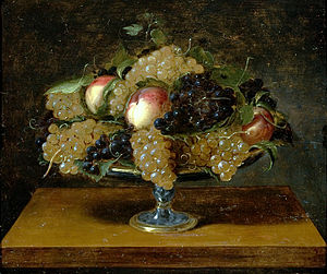 Panfilo Nuvolone - Still-life (1620). Painting by Panfilo Nuvolone (São Paulo Museum of Art, São Paulo).