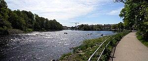 Ätran (river) - Ätran in June 2010