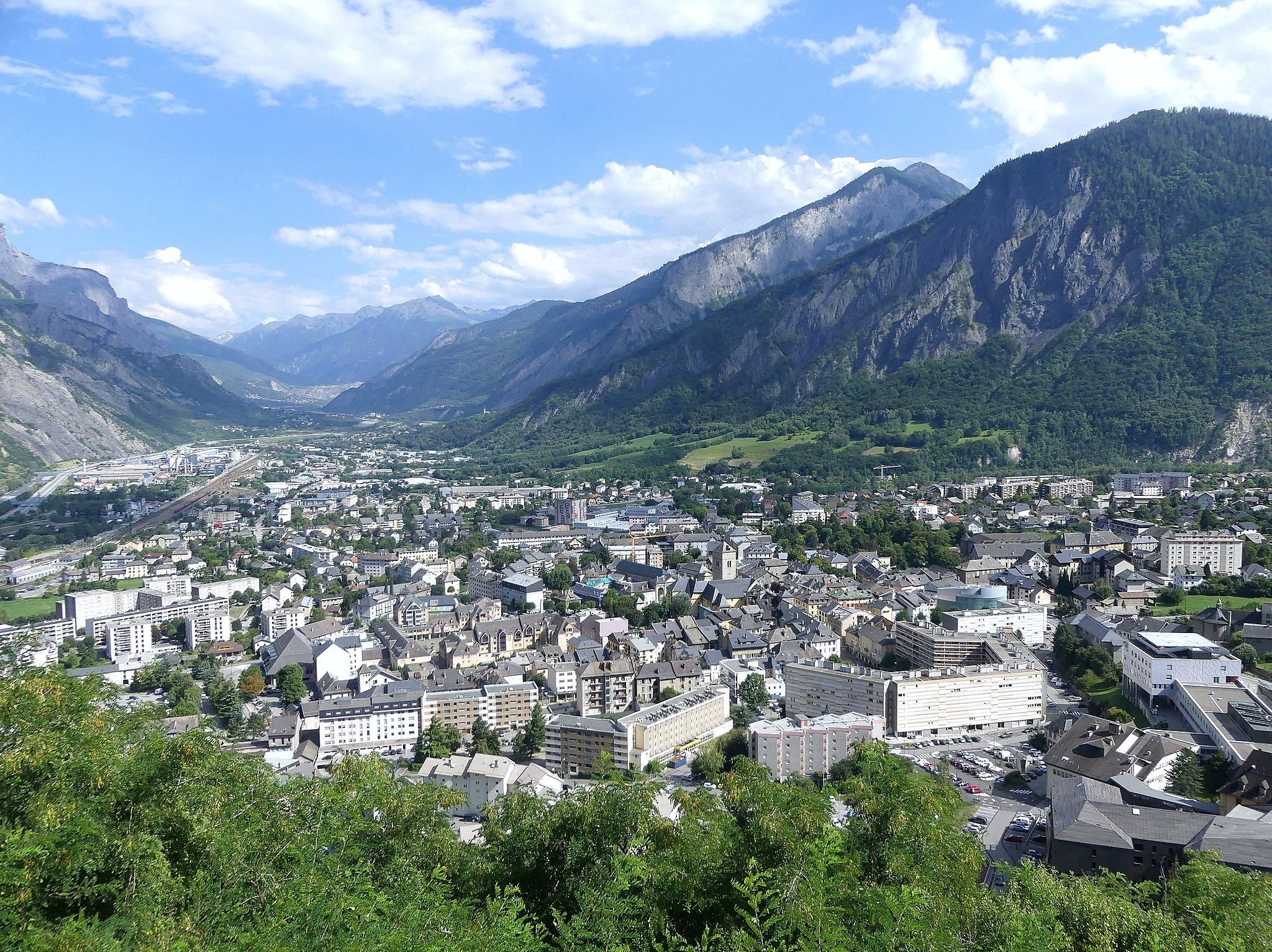 Panorama Saint-Jean-de-Maurienne (juillet 2018)