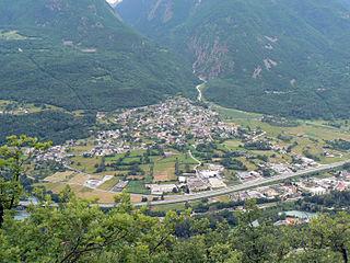 Saint-Marcel, Aosta Valley Comune in Aosta Valley, Italy