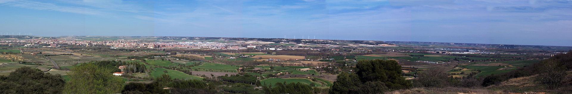 Qué ver qué hacer en Palencia, Panorámica de la ciudad de Palencia