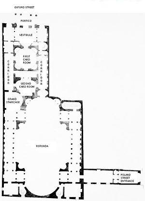 Pantheon, London - Plan.