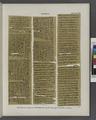 Papyrus. Hieratischer Papyrus. No. II, Vorderseite, Lin. 114-243. (jetzt im K. Museum zu Berlin.) (NYPL b14291191-44338).tiff