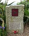 Parachute Regiment memorial, For the Fallen by Robert Laurence Binyon - Trebah Garden - Cornwall, England - DSC01566.jpg