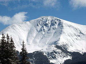 Parry Peak - View of Parry Peak from Mary Jane Mountain