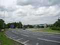 Part of the newly altered roundabout at Whitebirk - geograph.org.uk - 867549.jpg