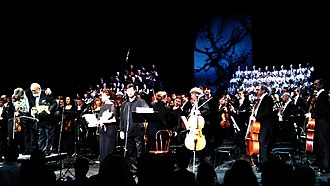 St Luke Passion (Penderecki) - Performance at the Novaya Opera Theatre, Moscow, in 2016