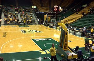 EagleBank Arena - Inside in November 2011
