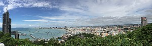 Pattaya panorama view