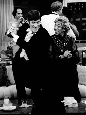 Paul Benedict - Paul Benedict and Zara Cully, The Jeffersons, 1975.