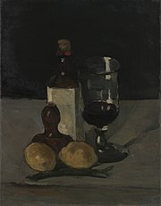 Paul Cézanne - Still Life with Bottle, Glass, and Lemon - 2006.140.2 - Yale University Art Gallery.jpg