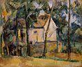 Paul Cezanne Maison et arbes.jpg