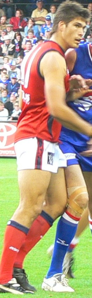 J. J. Liston Trophy - 2005 winner Paul Johnson