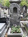 Pauline Viardot-Garcia, Grave Grab, Montmartre Cemetery 2.JPG