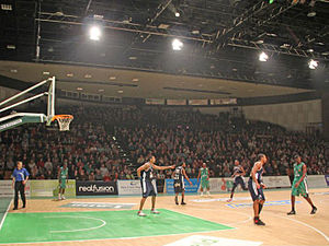 Plymouth Pavilions - Main arena, home to the Plymouth Raiders.