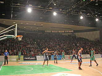 Plymouth Raiders - Plymouth Pavilions arena