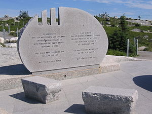 St. Margarets Bay, Nova Scotia - Swissair 111 Memorial, Peggys Cove, Nova Scotia
