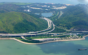 Penny's Bay Highway overview 201506.jpg
