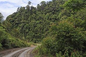 Nabawan District - Image: Pensiangan Sabah Sapulut Pensiangan Road 03