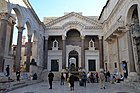 Peristyle of Diocletian's Palace, Split (11908116224).jpg