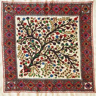 Suzani (textile) - FarWayArt Persian Suzani textile