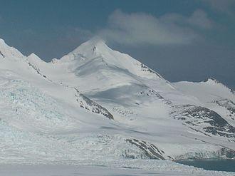 Peshtera Glacier - Peshtera Glacier from Willan Saddle.