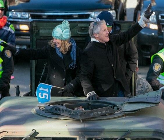 Pete Carroll, Super Bowl parade