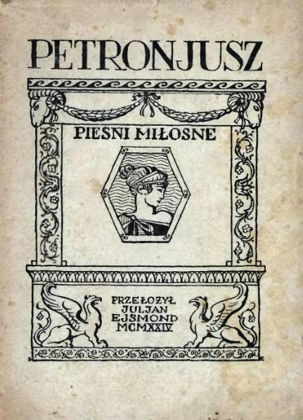File:Petroniusz - Pieśni miłosne.djvu