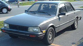 Peugeot 505 sedan