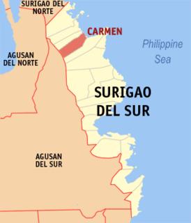 Carmen, Surigao del Sur Municipality in Caraga, Philippines