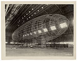 Photograph of the Nose of the USS Akron being Attached, ca. 1933 (7951496116).jpg