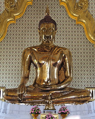 Buddharupa - Golden Buddha of Wat Traimit, Bangkok, Thailand