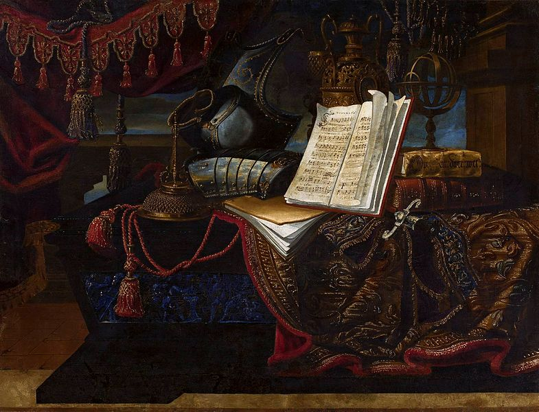 File:Pianti Still life with armor and books.jpg