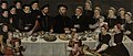 Pierre de Moucheron (1508-67). Koopman te Middelburg en Antwerpen, zijn echtgenote Isabeau de Gerbier, hun achttien kinderen, hun schoonzoon Allard de la Dale en hun eerste kleinkind Rijksmuseum SK-A-1537.jpeg