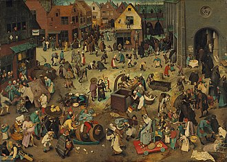The Fight Between Carnival and Lent - Image: Pieter Bruegel d. Ä. 066
