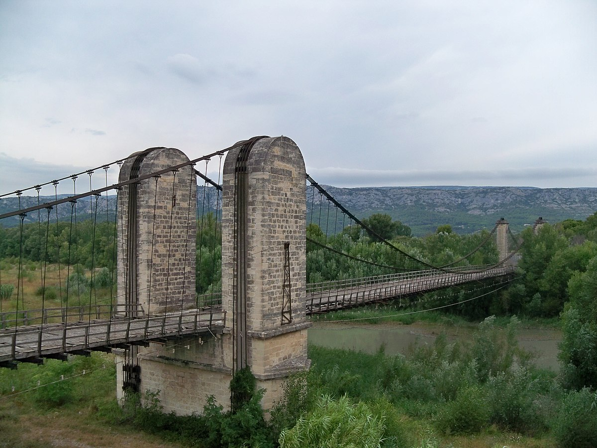 pont suspendu sur la durance wikip 233 dia