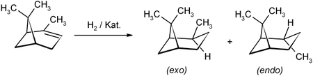 Synthese durch Hydrierung
