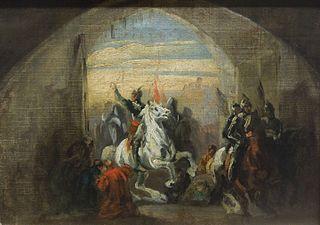 Bolesław the Brave Entering Kiev,