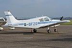 Piper PA28-140 Cherokee 'G-GFZG' (40123626532).jpg